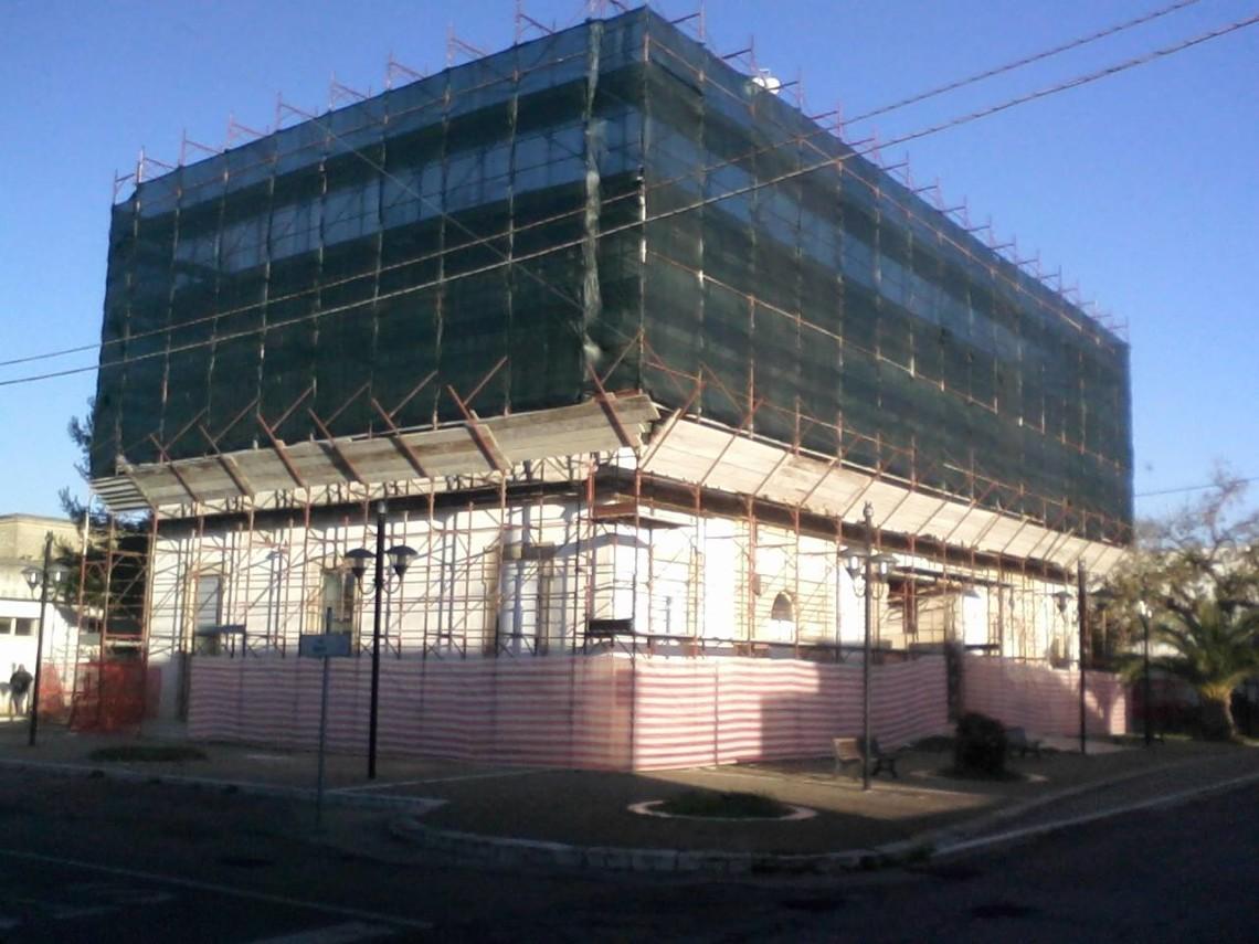 Comune di Salve (LE) Lavori di ristrutturazione con cambio di destinazione ad uso casa di riposo dell'ex edificio scolastico di Ruggiano (2012)
